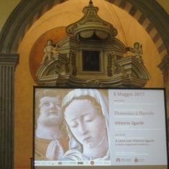 in mostra al Palazzo Corboli di Asciano (Siena), dal 6 maggio al 11 agosto 2017